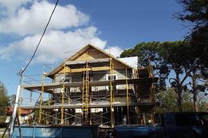 Lord-Higel House undergoing restoration