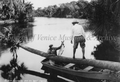 fisihing on snook haven vintage photo VMA