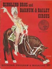 Circus souvenir program