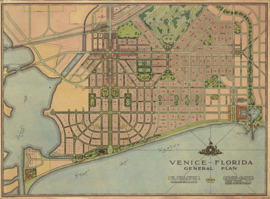 Nolen 1926 City of Venice Plan (1)