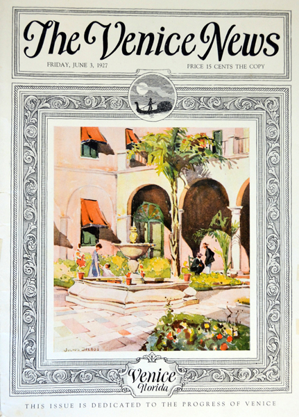 vintage magazine cover_The Venice News